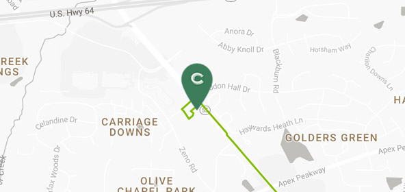 Carrabba's Delivery - 1201 Haddon Hall Drive