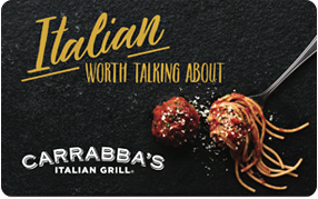 Bulk Order Carrabba's Italian Grill Gift Cards