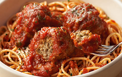 Spaghetti Meatballs click to view larger image