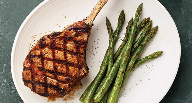 TUSCAN-GRILLED VEAL CHOP